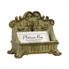 Sterling Lucinda Scroll Card Holder Desk Accessory
