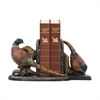 Sterling Pair Of Autumn Pheasants Bookends