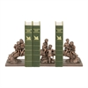 Sterling Set of 3 Secret Tree Bookends