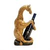 Sterling Giraffe Wine Caddy