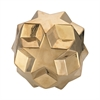 Ceramic Gold Table Top Star Ball