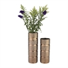 Banded Texture Ceramic Vase
