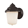 Cornerstone 1 Light Outdoor Wall Sconce In Oil Rubbed Bronze