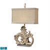 Springfield LED Table Lamp in Presidente Finish
