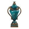 Sterling Turquoise Urn