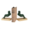 Rearing Greek Horse Bookends