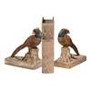 Sterling Pheasant Bookends