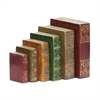Sterling Set of 6 Tooled Books