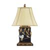 "Dimond 20"" Birds On Branch Table Lamp in Black"
