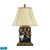 "Dimond 20"" Birds On Branch LED Table Lamp in Black"