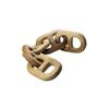 Hand Carved 5-Link Decorative Wooden Chain