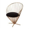 Lazy Susan Iron Taper Wire Chair