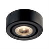 Alpha Collection 1 Light Recessed LED Disc Light In Black