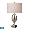 "28"" Waverly LED Table Lamp in Plated Mercury"