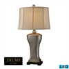 "Dimond TRUMP HOME 34"" Lexington Avenue LED Table Lamp in Silver Leaf"