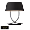 "TRUMP HOME 23"" Park East Table Lamp in Chrome"