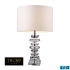 "TRUMP HOME 23"" Madison Clear Crystal LED Table Lamp"
