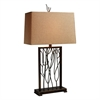 "Dimond 28"" Belvior Park Table Lamp in Aria Bronze"
