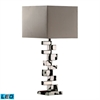 "Dimond 28"" Emmaus LED Table Lamp in Chrome"