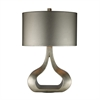 "Dimond 26"" Carolina Table Lamp in Silver Leaf"