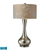 "Dimond 34"" Orion Mercury Glass LED Table Lamp"