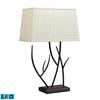 "Dimond 25"" Winter Harbor LED Table Lamp in Aged Bronze"