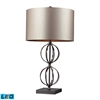 "Dimond 30"" Danforth LED Table Lamp in Coffee Plating"