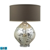 "Dimond 25"" Limerick Ceramic LED Table Lamp in Turrit Finish"