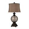 Grants Pass Antique Mercury Glass Table Lamp in Bronze