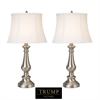 Trump Home Fairlawn Table Lamps in Nickel - Set of 2