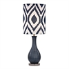 "Dimond 24"" Hitchin Ceramic Table Lamp in Navy Blue"