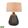 Metallic Mound LED Table Lamp
