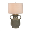 Glazed Amphora Lamp