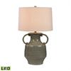 Glazed Amphora LED Lamp