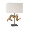Impact Table Lamp Gold,Black