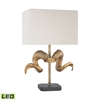 Dimond Lighting Impact LED Table Lamp Gold,Black