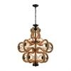 Dimond Lighting Maestro Chandelier Natural Rope