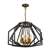 Dimond Lighting Fluxx Chandelier Bronze