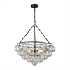Cuvée Chandelier - Small Oil Rubbed Bronze,Clear