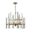 Dimond Lighting Arthur Chandelier Antique Silver Leaf