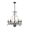 Oberon 5 Light Grande Chandelier