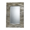 Sterling Transcend Mirror In Silver Leaf With Black Antique