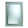 Sterling Sardis Mirror In Brushed Steel And Mother Of Pearl Shell