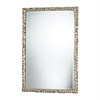 Emery Hill Mirror In Silver Leaf