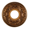 Acanthus 11-Inch Medallion In Antique Bronze Finish
