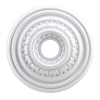 English Study 18-Inch Medallion In White
