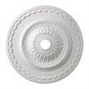 Brookdale 30-Inch Medallion In White