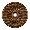 Melon Reed 32-Inch Medallion In Antique Bronze