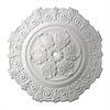Marietta 33-Inch Medallion In White