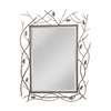 Mirror Masters Sought After Metal Twig And Leaf Frame